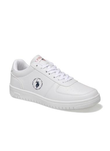U.S. Polo Assn. Erkek Ayakkabı Dimler 100910039 Beyaz
